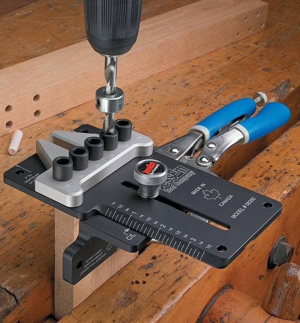 How To Drill Dowel Holes Without a Jig